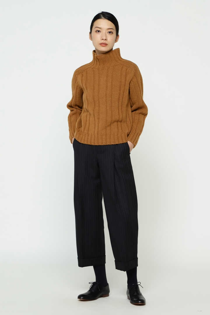 HICK NECK RIBBED JUMPER12
