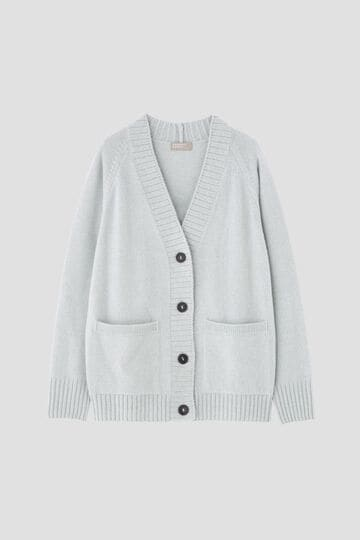 TWISTED CASHMERE WOOL CARDIGAN_146