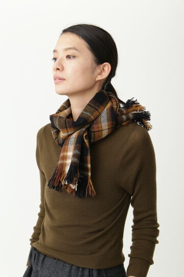 BLANKET CHECK SCARF(神南別注)_051