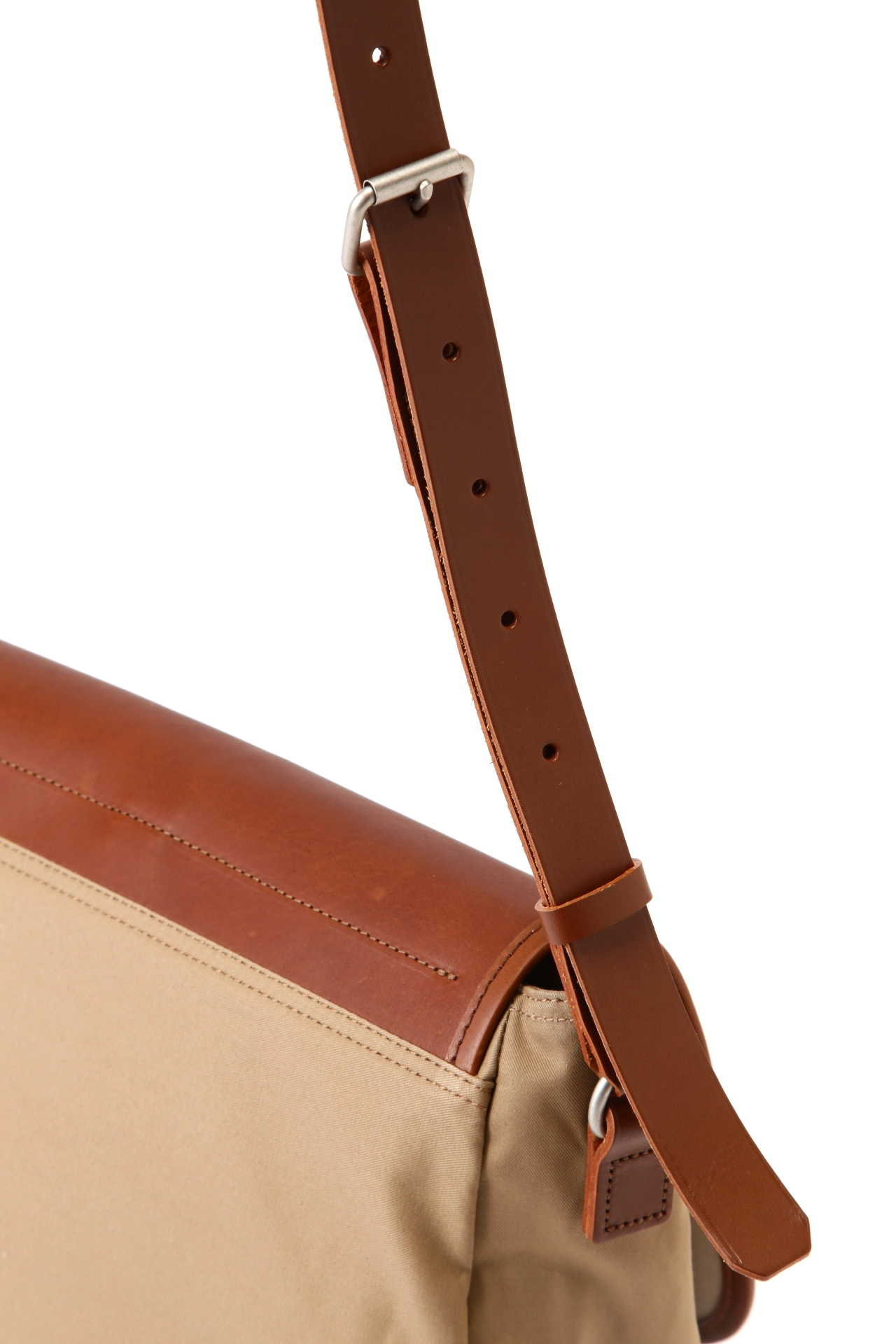 COTTON LEATHER SATCHEL4