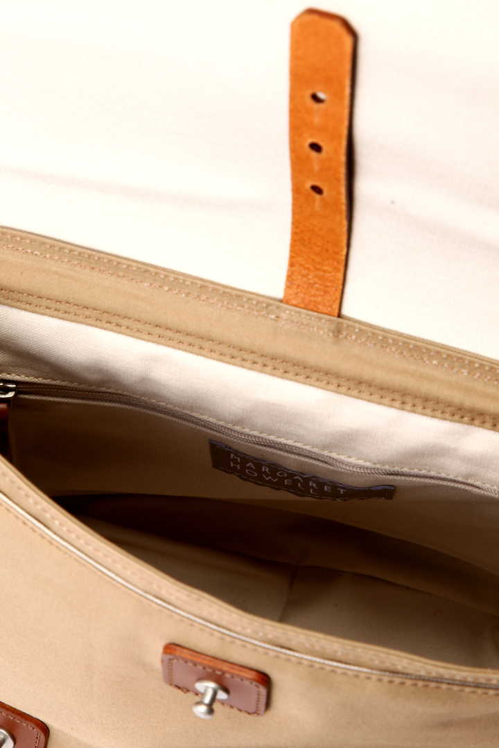 COTTON LEATHER SATCHEL5