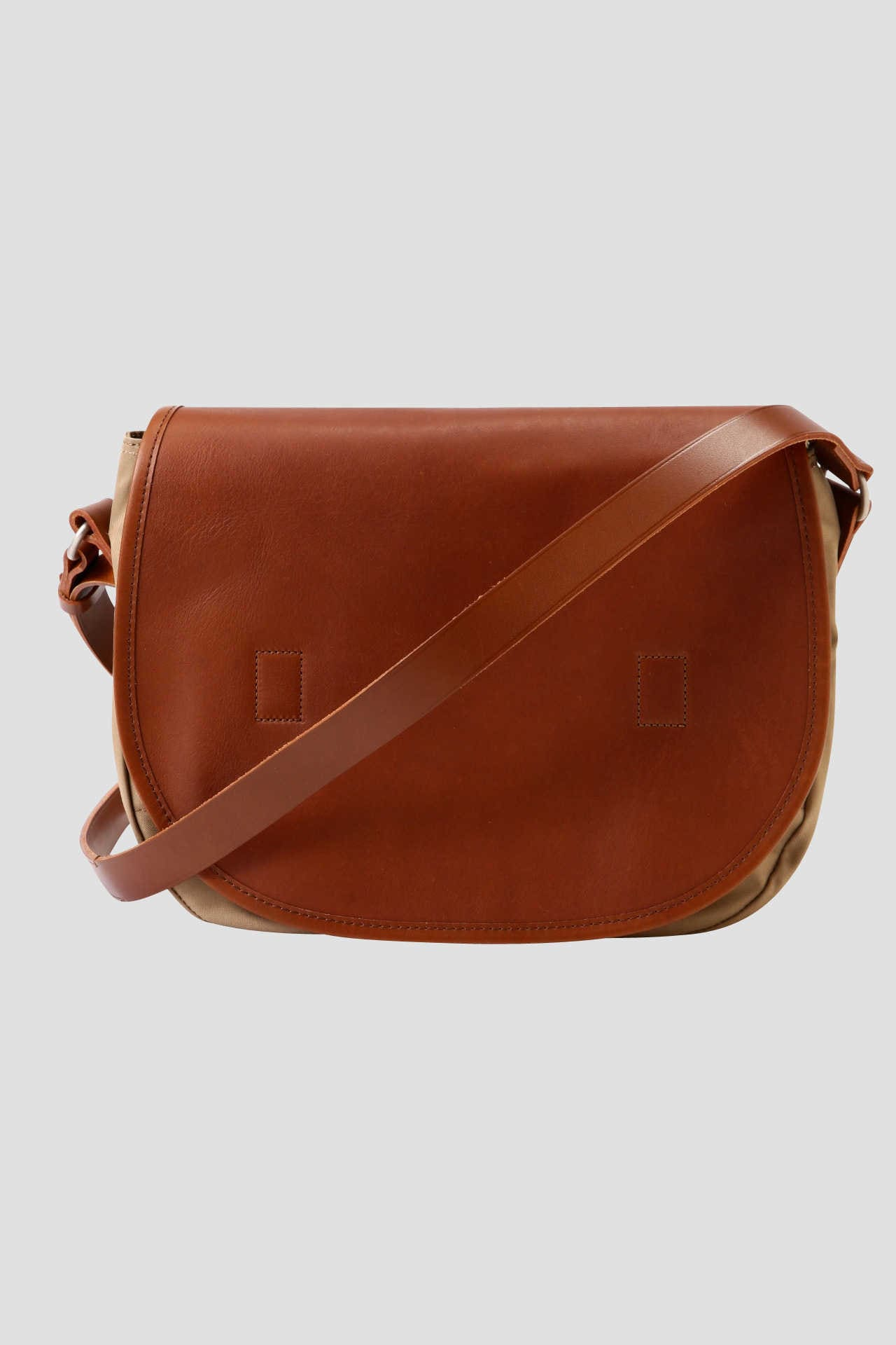 COTTON LEATHER SATCHEL1