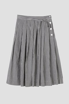 GINGHAM COTTON POPLIN