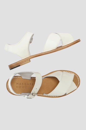 CROSS LEATHER SANDAL