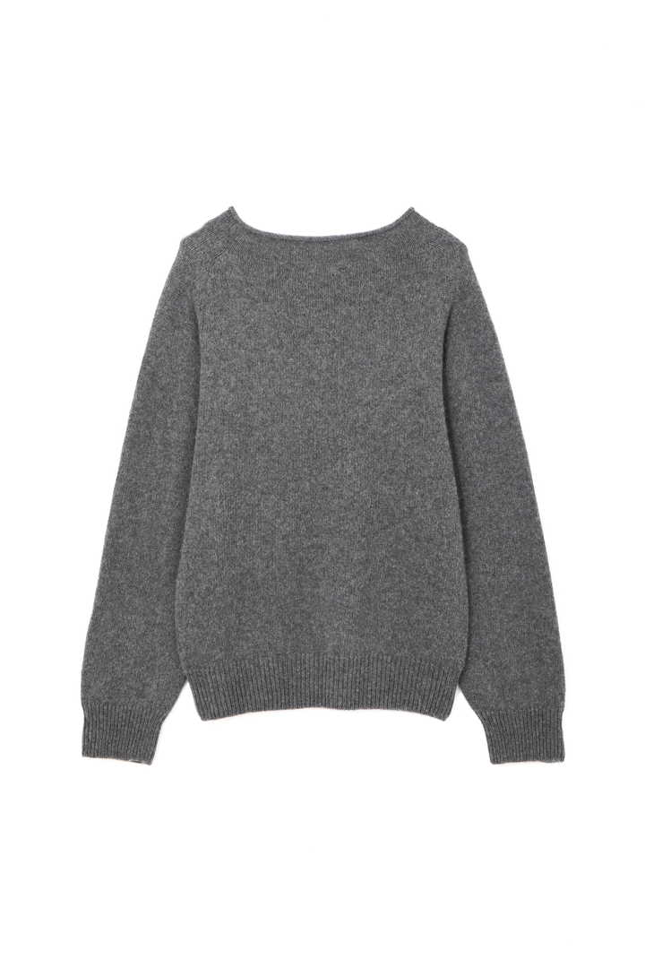 LONG SLEEVE CAST OFF ROLL NECK
