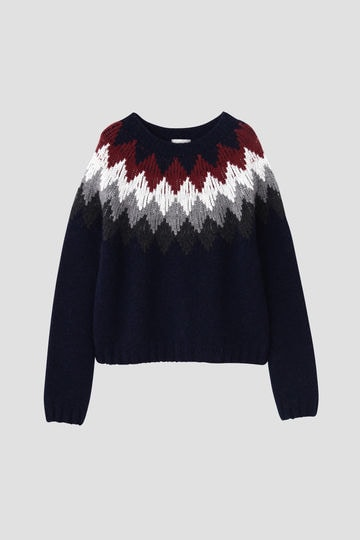 DIAMOND FAIRISLE JUMPER