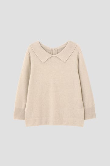 CASHMERE POLO COLLAR JUMPER