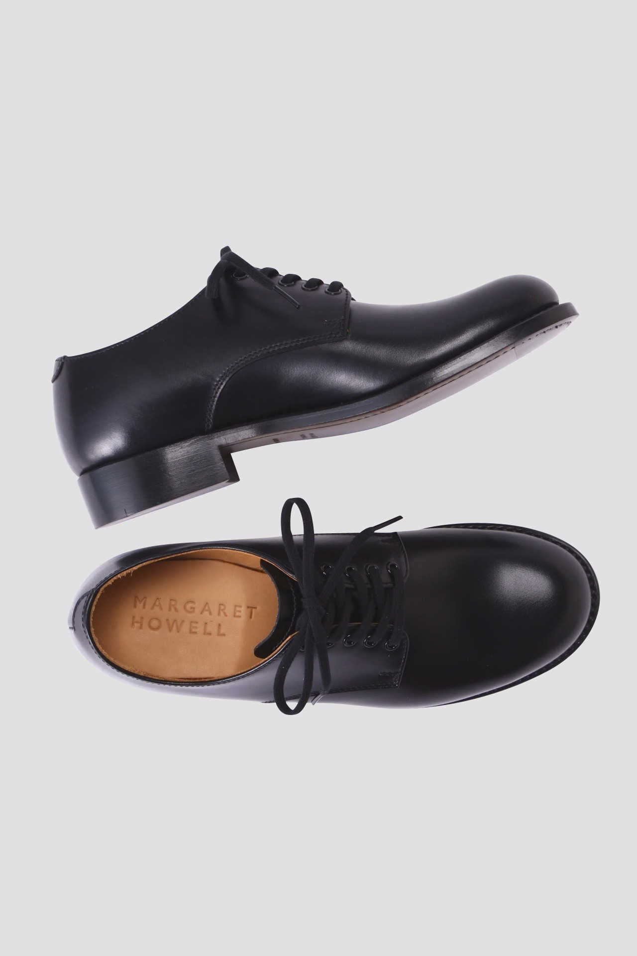 LEATHER LACE UP SHOES8