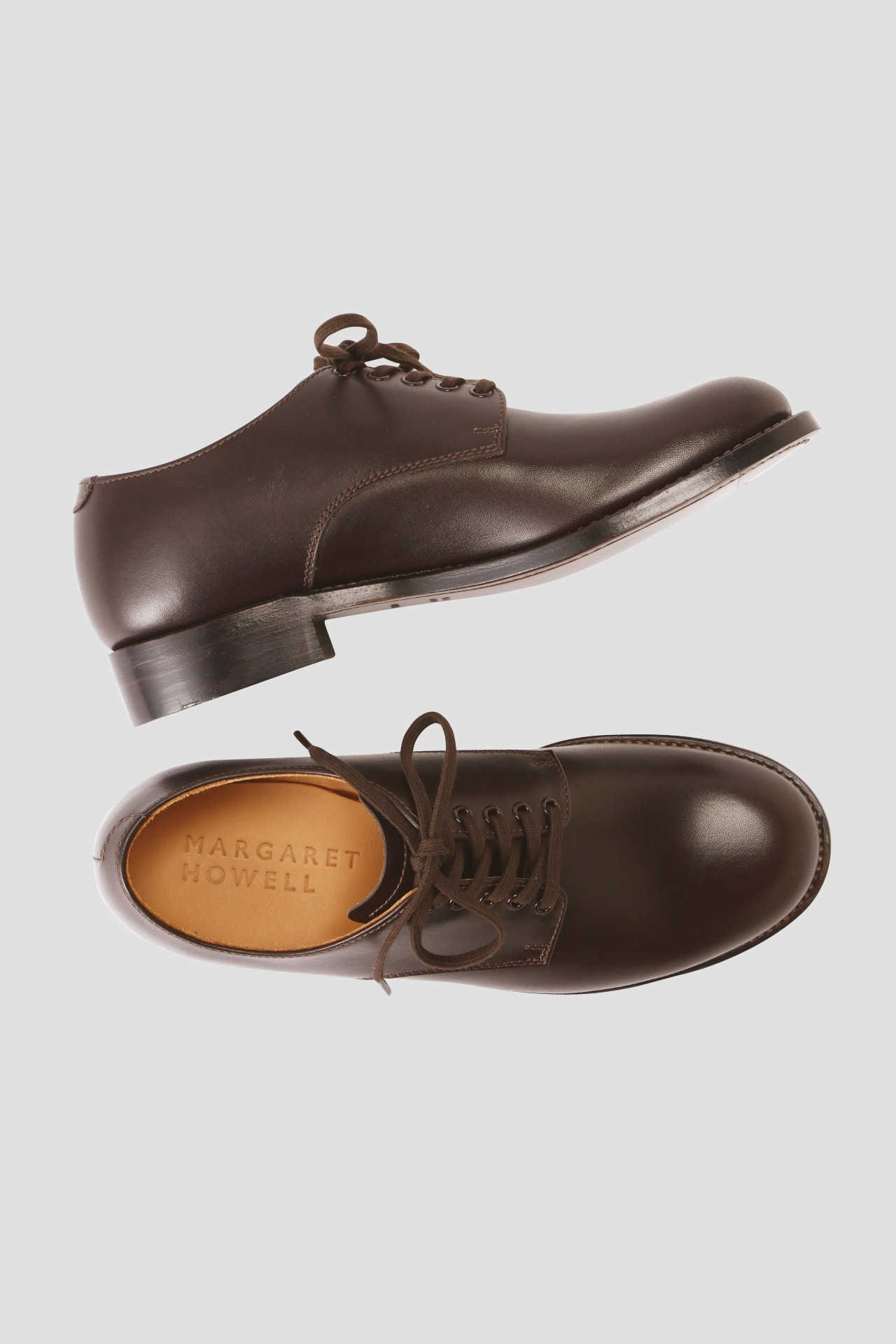 LEATHER LACE UP SHOES2