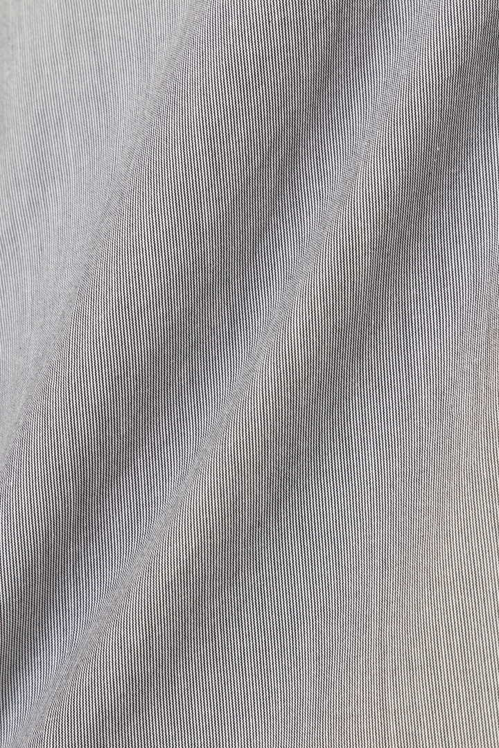 HAIRLINE STRIPE COTTON