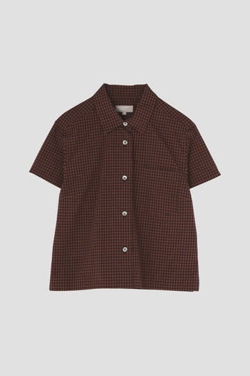 DRY GINGHAMCHECK COTTON_085