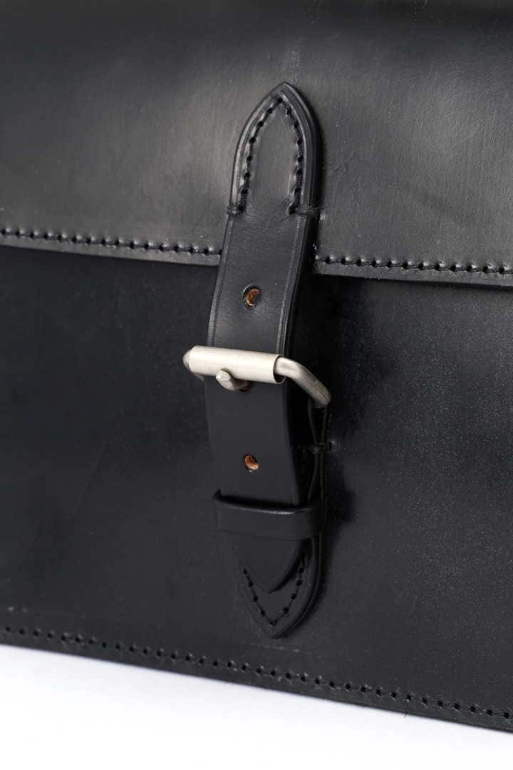 BRIDLE LEATHER SHOULDER BAG