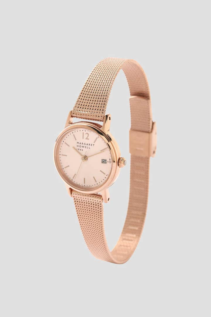 MESH BAND DATE WATCH1