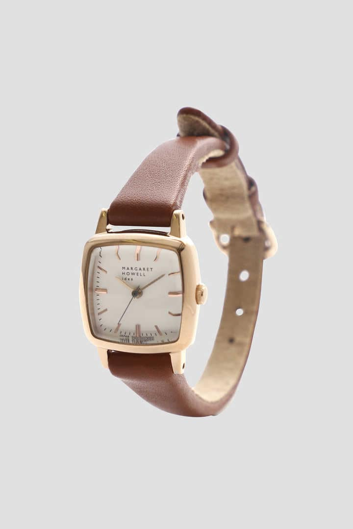 SQUARE & LEATHER STRAP