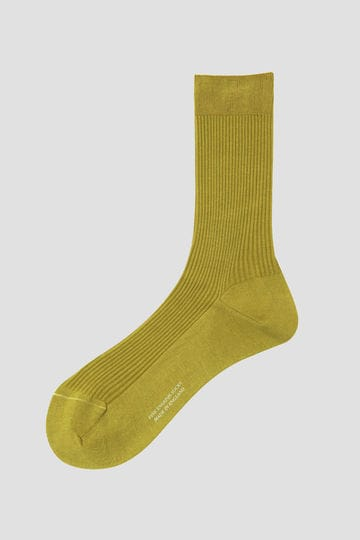 SHORT RIBBED SOCK