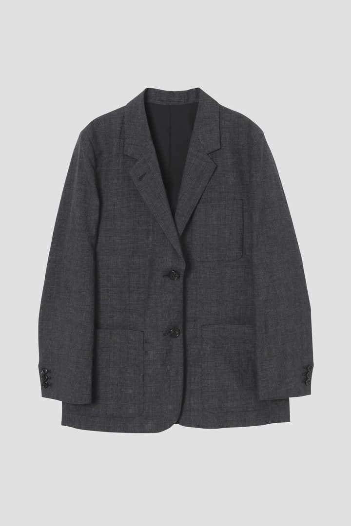 PRINCE OF WALES CHECK WOOL LINEN1