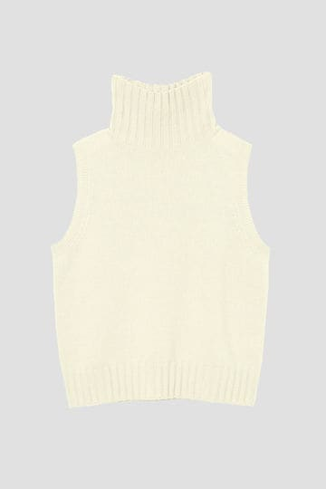 SLEEVELESS TURTLENECK_021