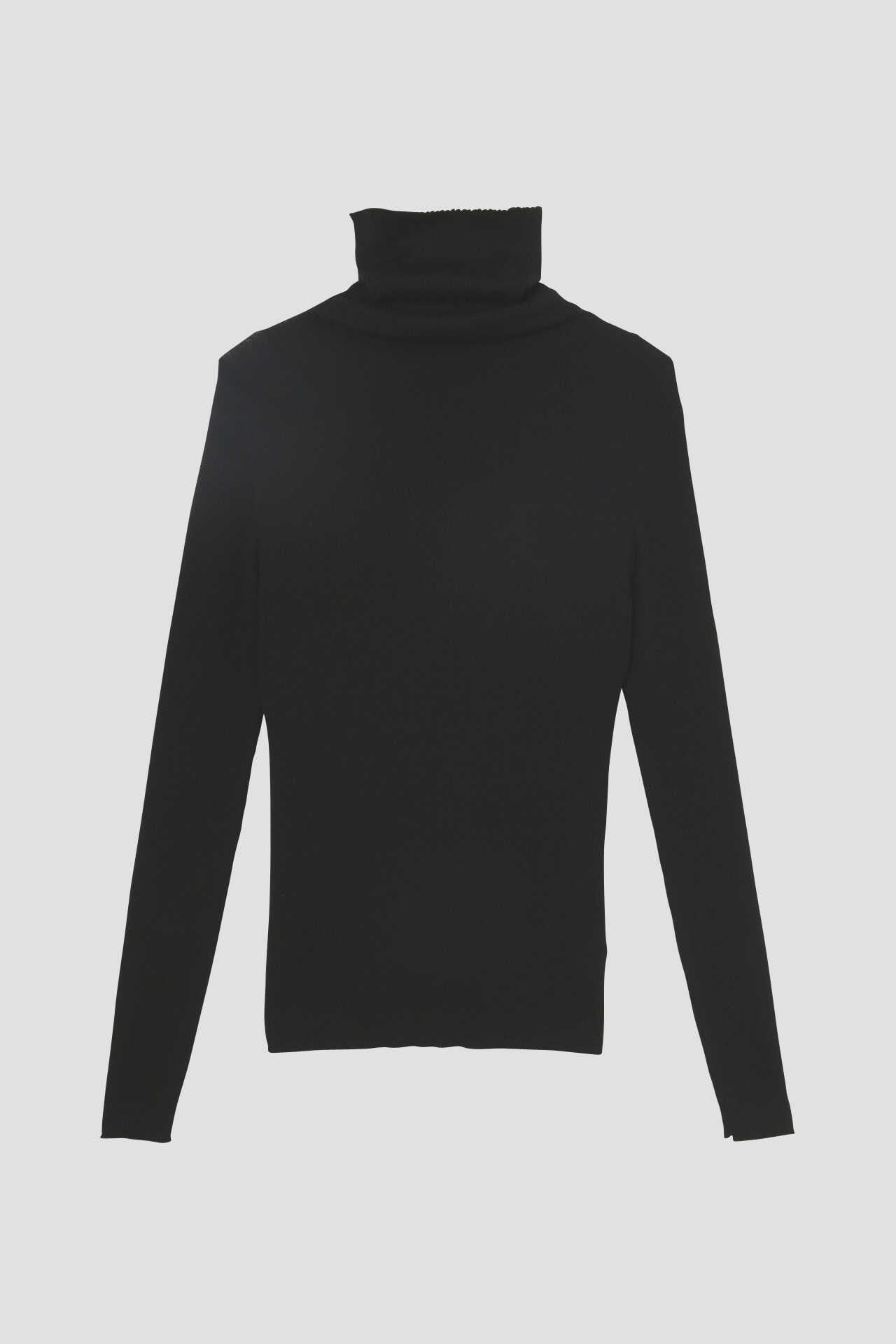 FINE RIB TURTLENECK7