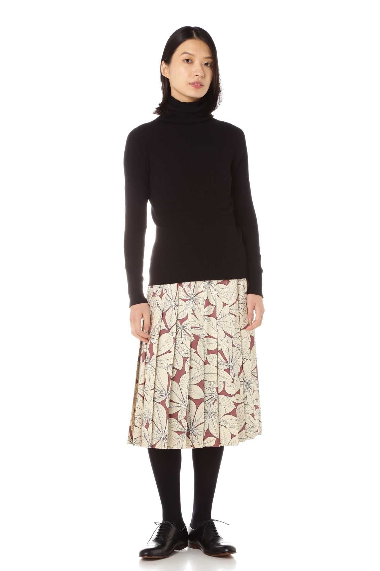 FINE RIB TURTLENECK8