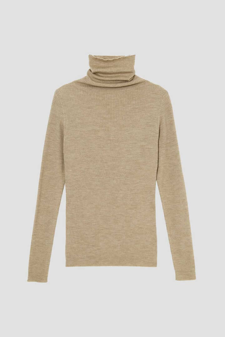 FINE RIB TURTLENECK2