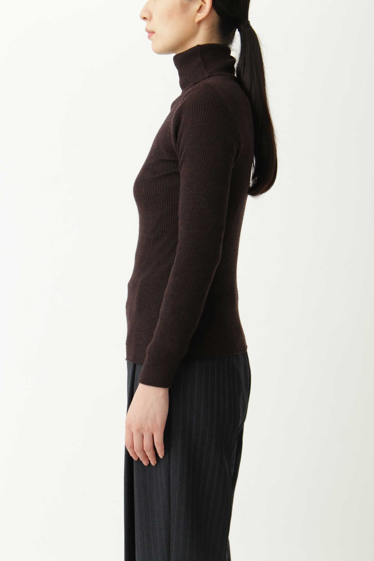 FINE RIB TURTLENECK11