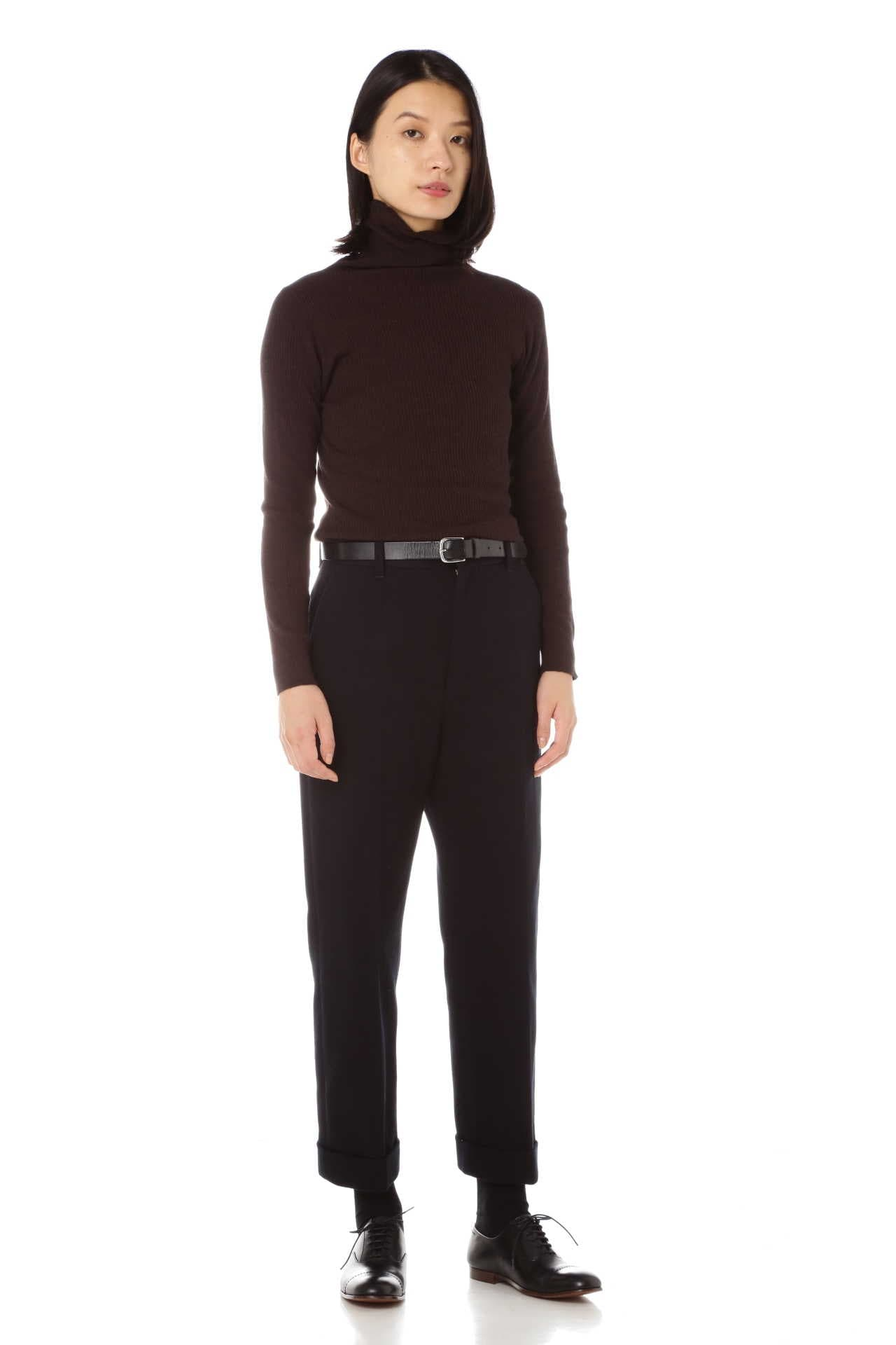 FINE RIB TURTLENECK12