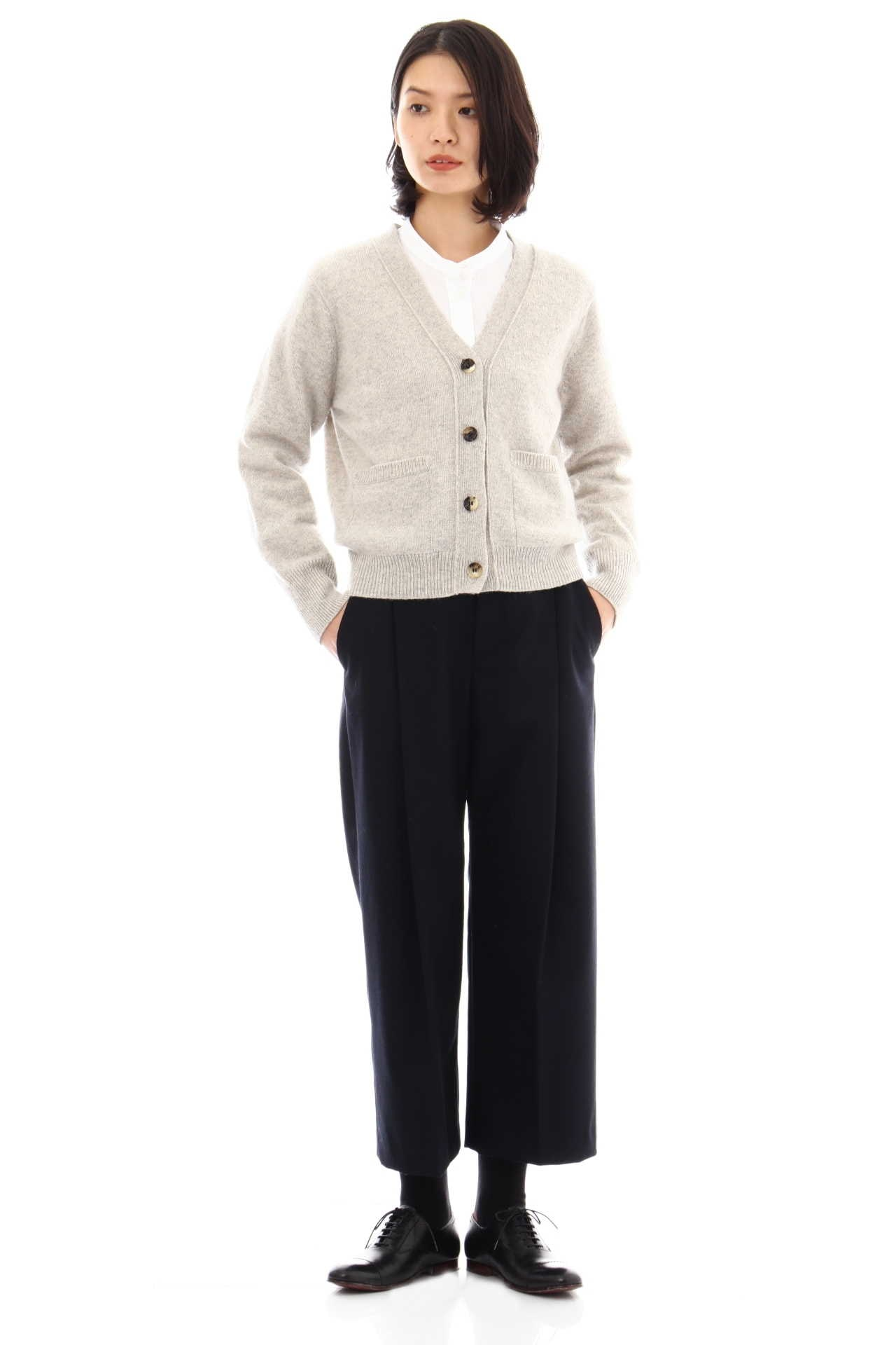TWISTED CASHMERE WOOL CARDIGAN8