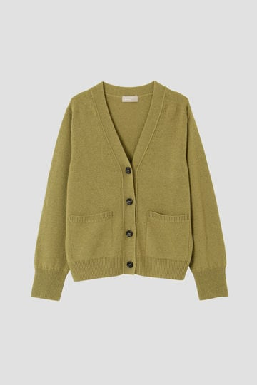 先行予約 11月下旬 TWISTED CASHMERE WOOL CARDIGAN_181