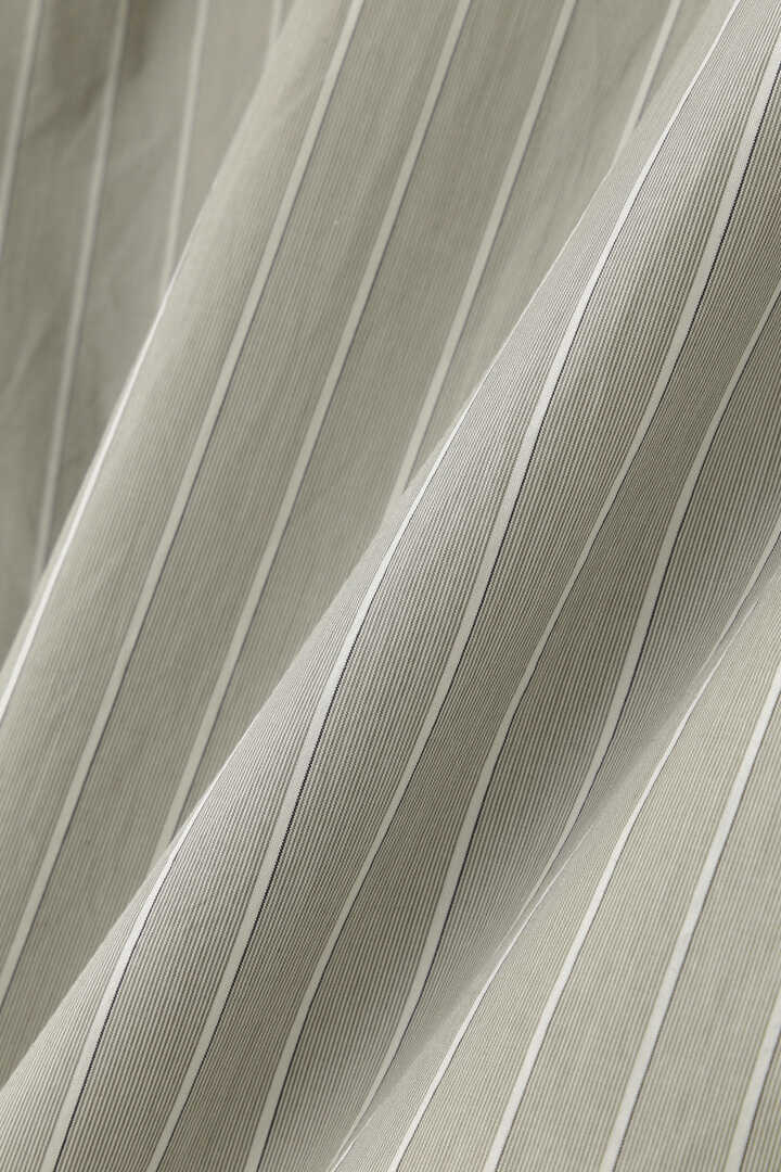 HAIRLINE STRIPE COTTON POPLIN6