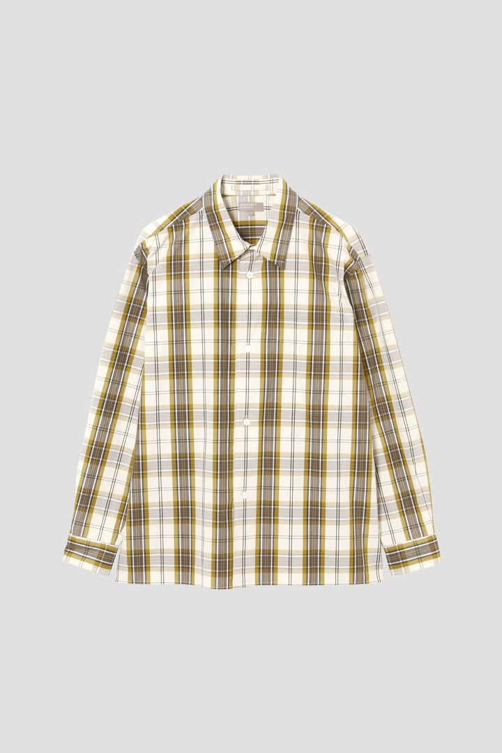 GRAPHIC CHECK COTTON1