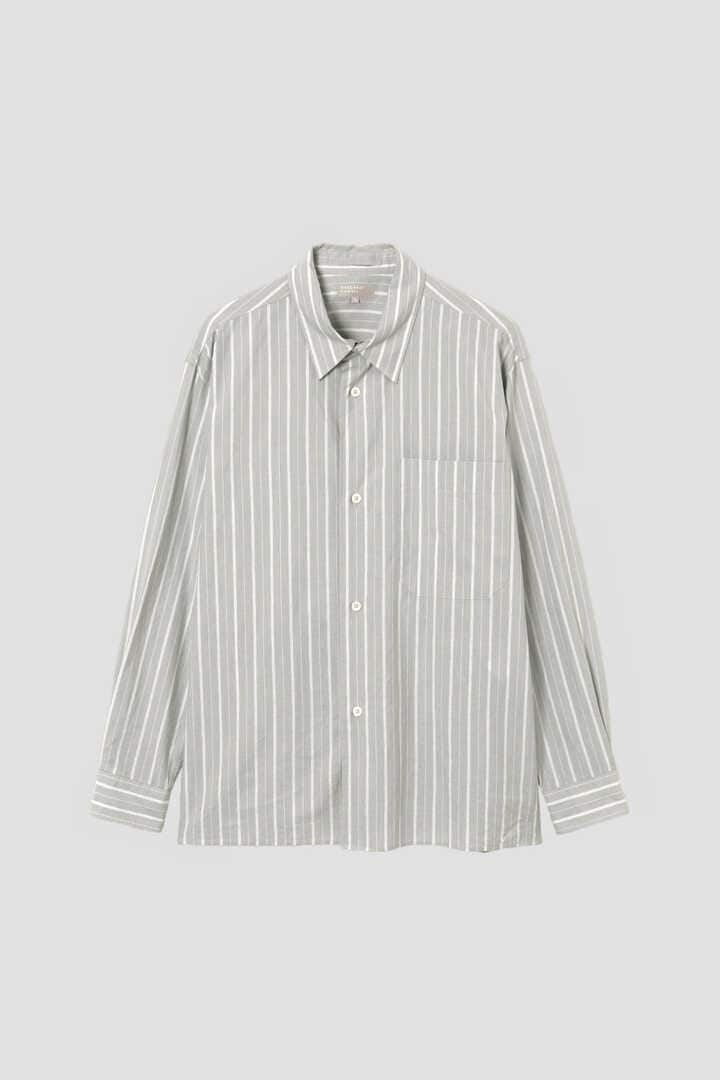 WIDE SPACED STRIPE COTTON1