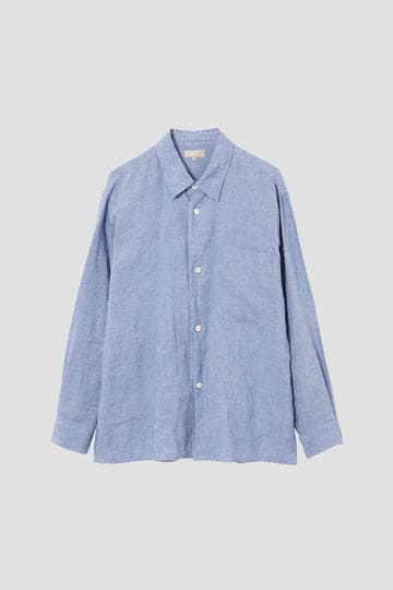 CHAMBRAY SHIRTING LINEN_110