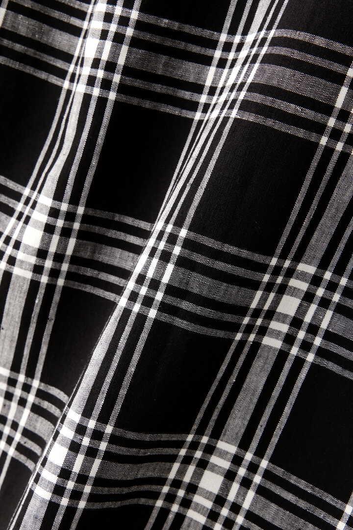 BLACK & WHITE CHECK LINEN5