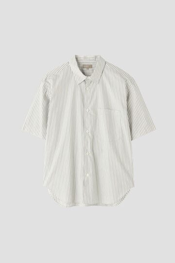 END ON END SPACED STRIPE COTTON POPLIN_032