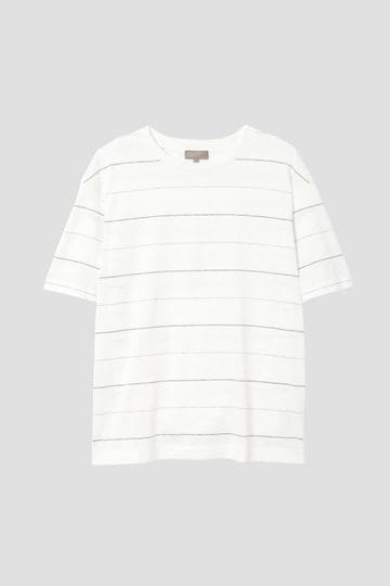 DENSE COTTON ODD STRIPE JERSEY_030