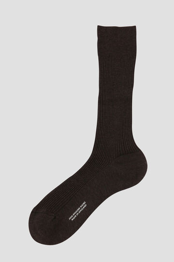 FINE RIBBED SOCK_052
