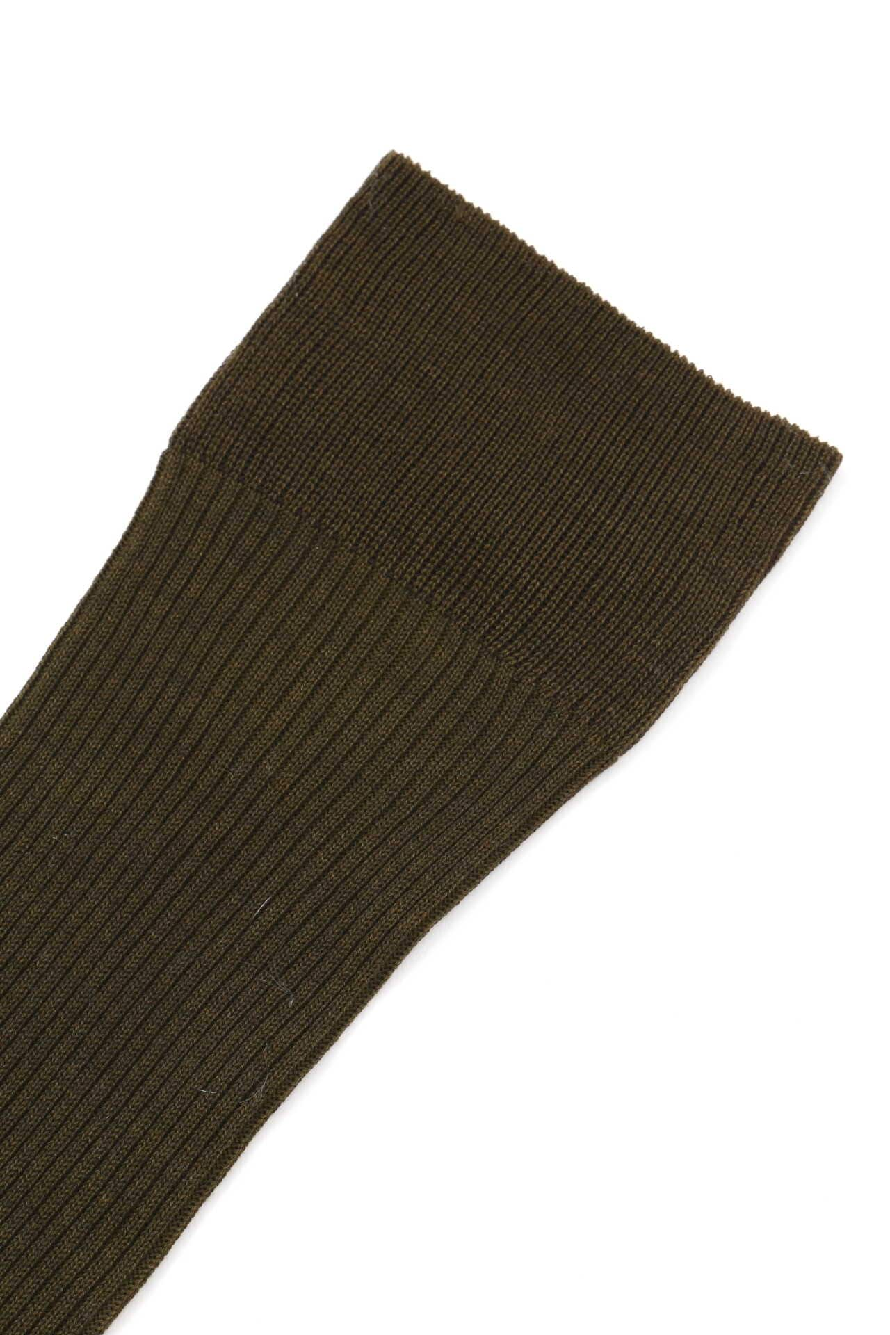 FINE RIBBED SOCK2