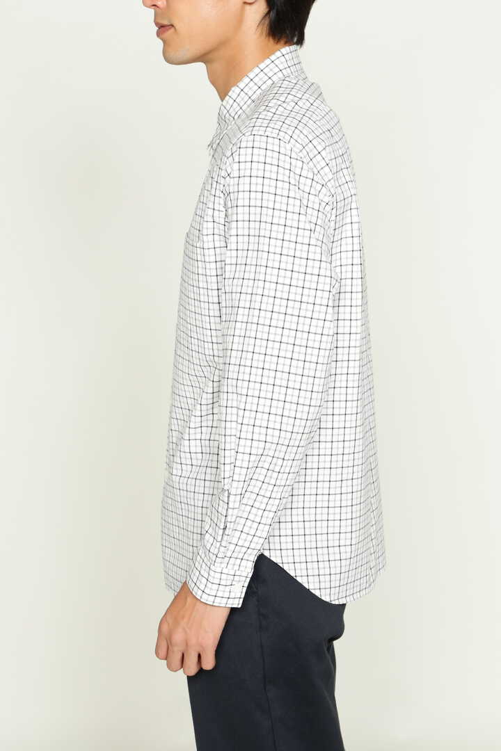 DOUBLE LINE CHECK COTTON POPLIN5