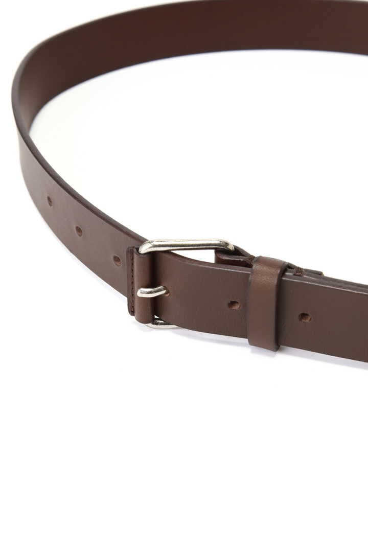 LEATHER ROLLER BUCKLE BELT3
