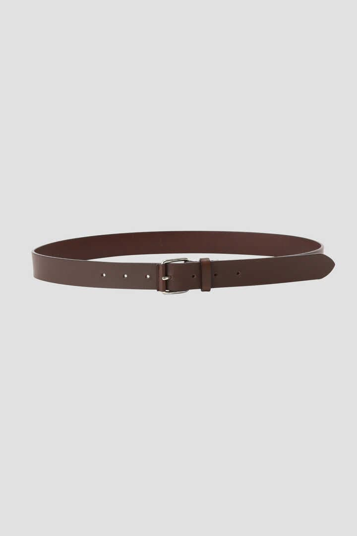 LEATHER ROLLER BUCKLE BELT1