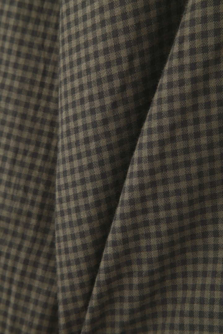 BRUSHED COTTON TWILL GINGHAM