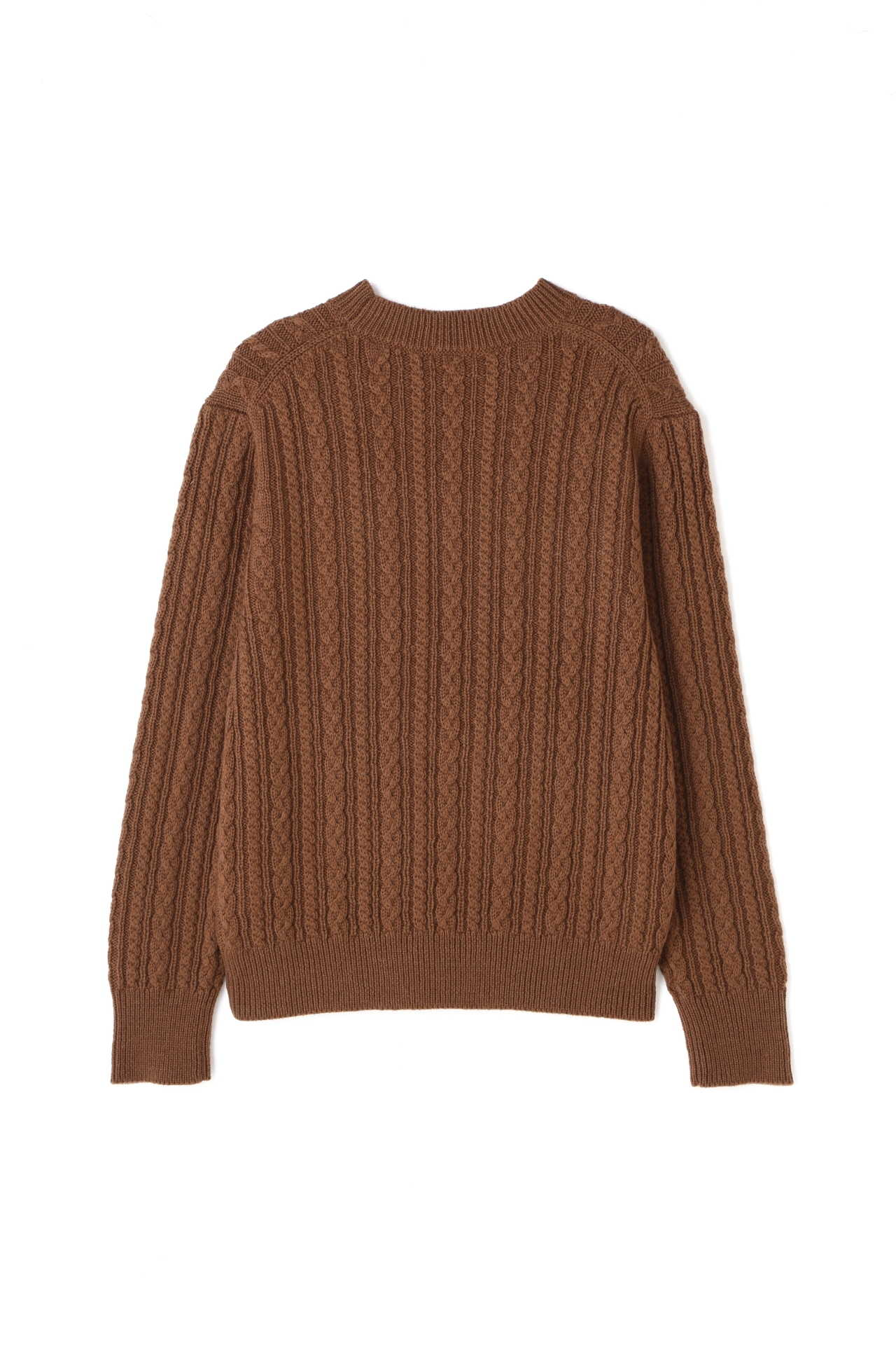 CABLE CREW NECK