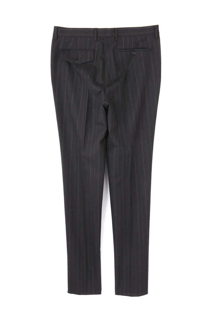 OFFSET WOOL PINSTRIPE