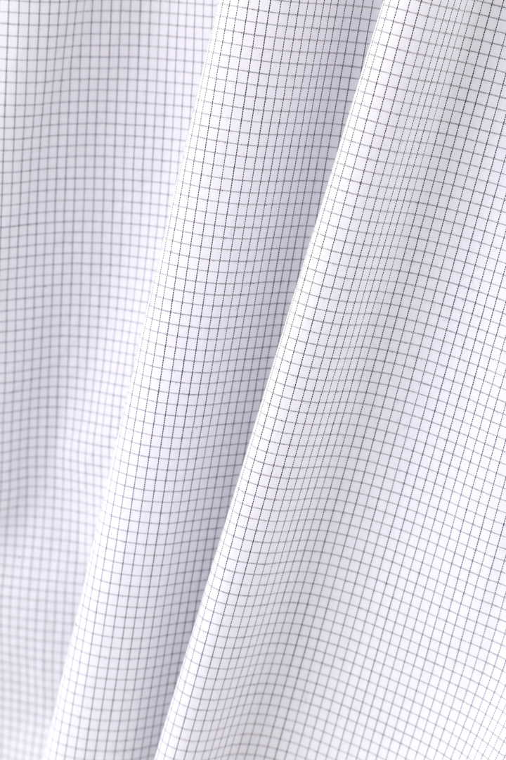 GRAPH CHECK COTTON POPLIN