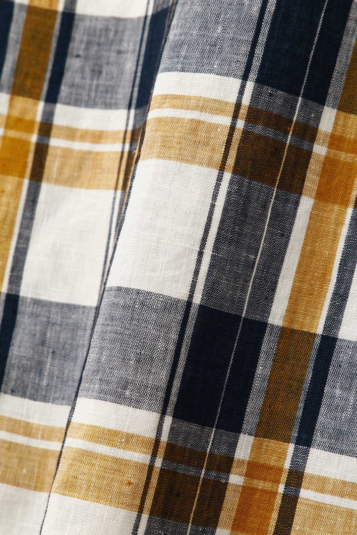 GRAPHIC LINEN CHECK