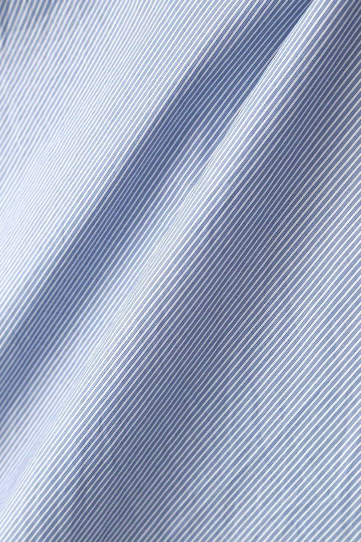 NARROW STRIPE COTTON POPLIN