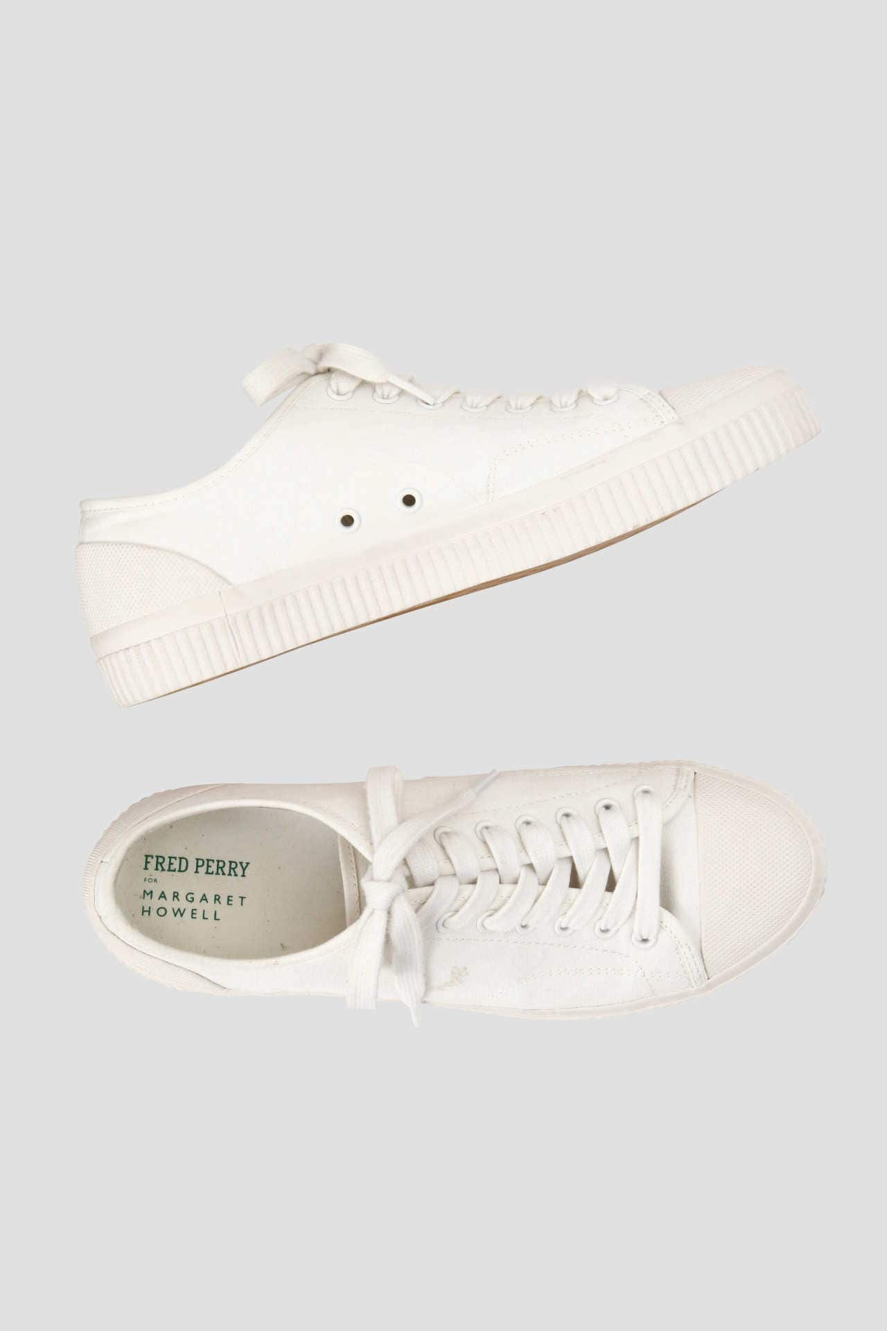CANVAS RUBBER(FRED PERRY FOR MARGARET HOWELL)1