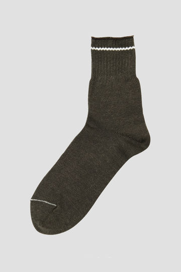 TIPPED LINEN SOCK