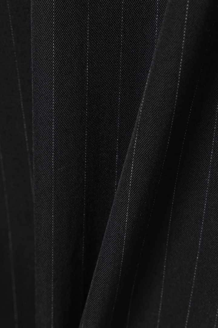 DRY FINISH PINSTRIPE WOOL