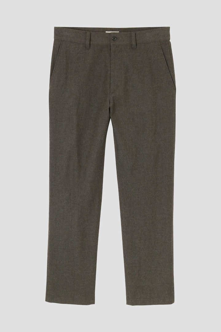 WOOL COTTON BRUSHED TWILL1